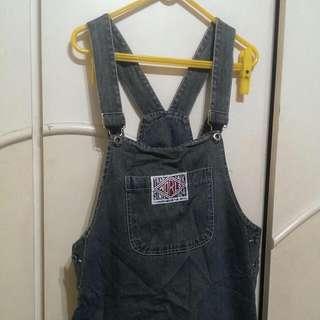 復古吊帶裙