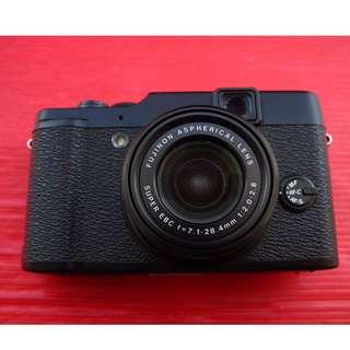 ※黑色 FUJIFILM 富士 X10 經典復古 保存好機況佳 無原廠盒裝 ※換機優先