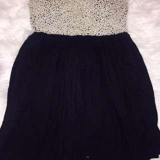 Size 8 One Teaspoon Pearl Beaded Dress