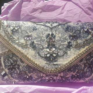 Beads Vintage Clutch