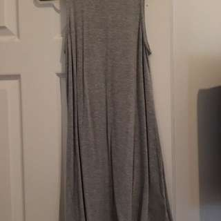 New Grey Summer Dress