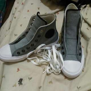 Repriced!! Gray Converse Chuck Taylor II Grey