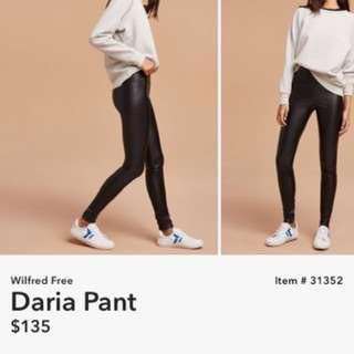 Wilfred Free Daria Pant Size Xs