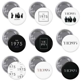The 1975 Band Badges