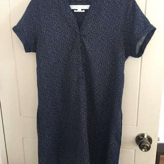 ForMe Navy Blue Shift Dress