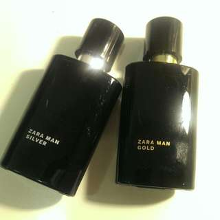 Zara Man /silver+gold