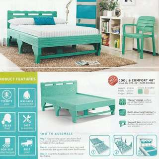 Zooey 48x75 Semi-Double Bed Frame