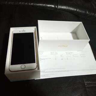 Selling Iphone 7 128 GB Gold Recontract From Singtel Never Used