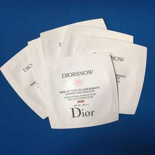 Diorsnow  Brightening Makeup Base Rose