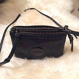 Mimco Secret Couch Crossbody Bag Black