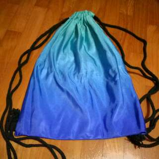 Blue Ombre Drawstring