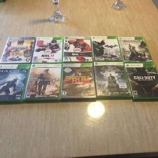 A Bunch Of Xbox 360 Games