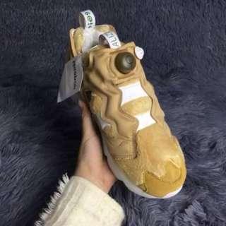 reebok銳步男女鞋充氣鞋泰迪熊