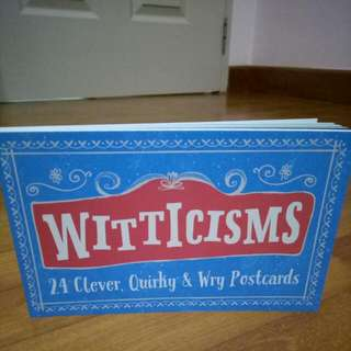 Witticisms (Book of 24 Postcards)