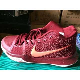 歐文3代籃球鞋戰靴高幫實戰利器後衛籃球鞋中國紅