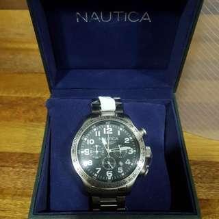 Nautica Mens Chronograph Watch A18592G