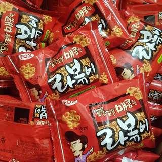 韓國火紅年糕拉麵點心麵