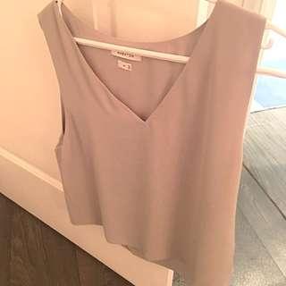 Talula Silk Camisole - grey