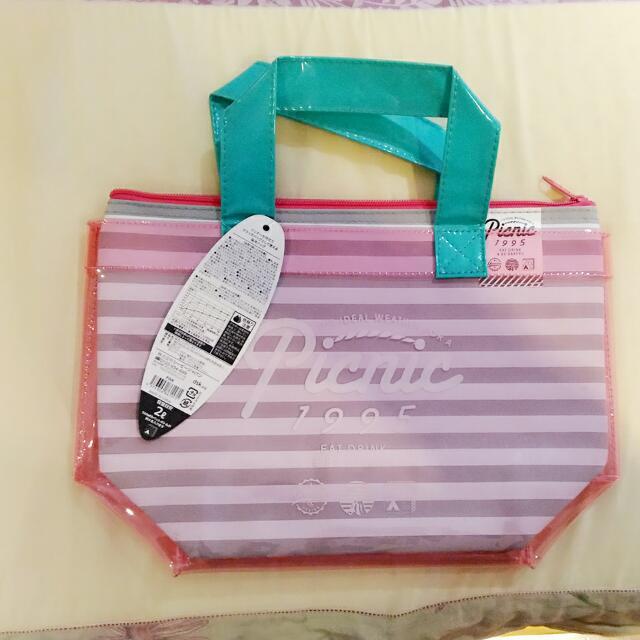 日本購回*保冷帶&萬用防水手提袋