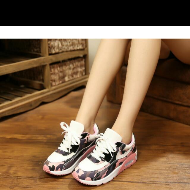 韓版女生球鞋