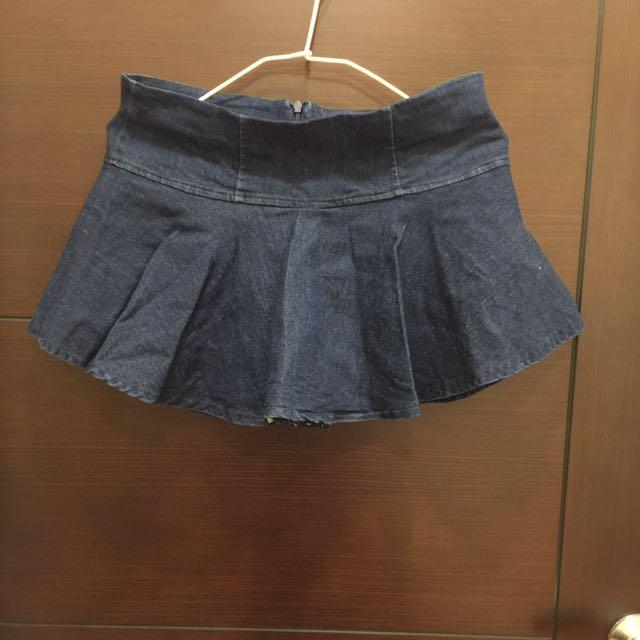 牛仔裙 燈籠褲