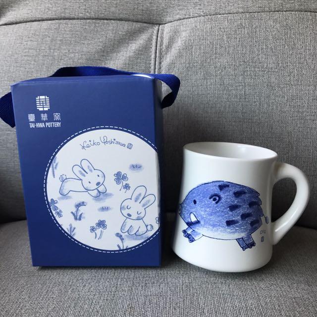 全新 臺華窯 東京童裝插畫家設計 十二生肖 豬 #局家生活好物