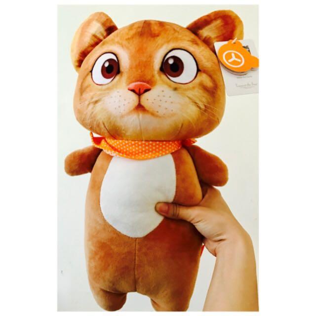 番茄貓娃娃 卡拉貓娃娃 貓咪娃娃 橘貓娃娃 抱枕