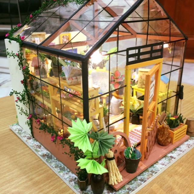 花房成品 Green House Model