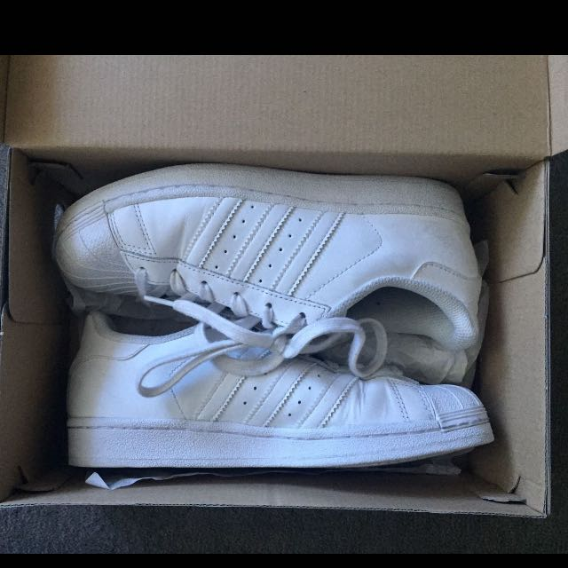 Adidas All-white Superstars