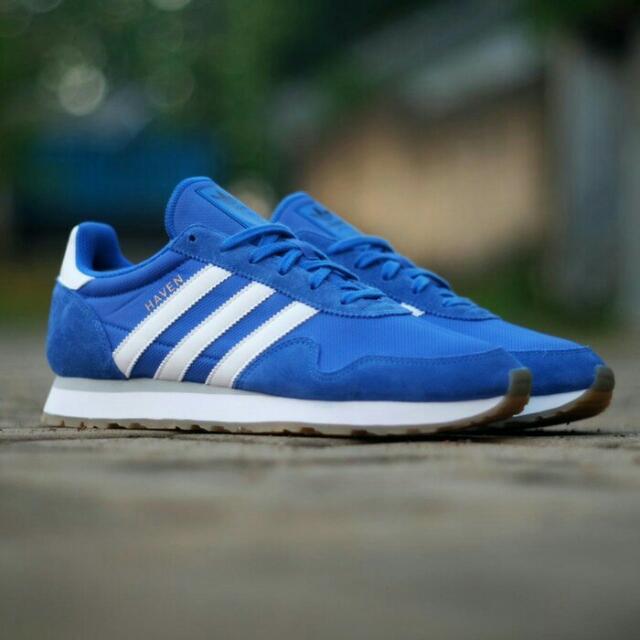 Adidas Haven Blue White Gum Sole Original 13973147d3