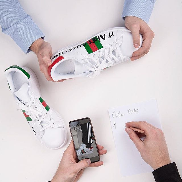 Super ADIDAS X STAN SMITH X GUCCI SNEAKERS, Men's Fashion, Footwear on  QV22