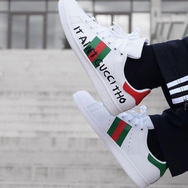 Assez ADIDAS X STAN SMITH X GUCCI SNEAKERS, Men's Fashion, Footwear on  GI09