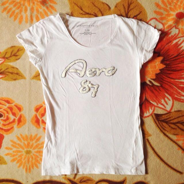 Aeropostale White Shirt