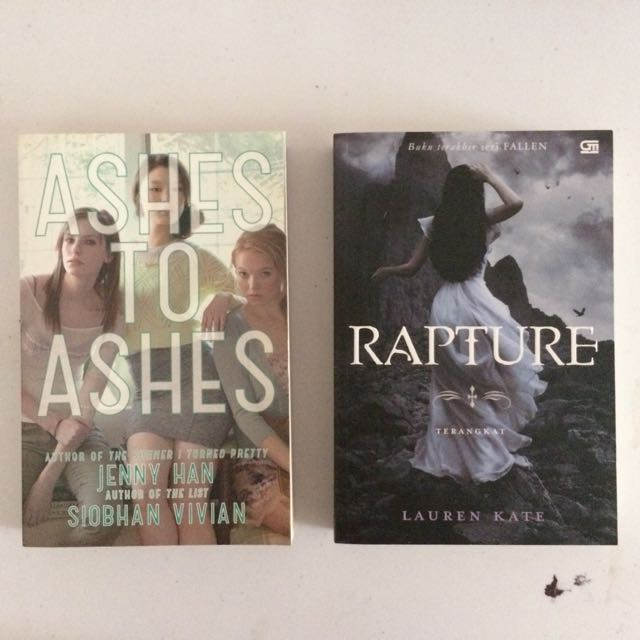 Ashes to Ashes & Rapture
