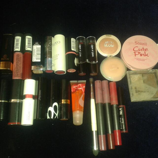 Authentic Assorted Makeups