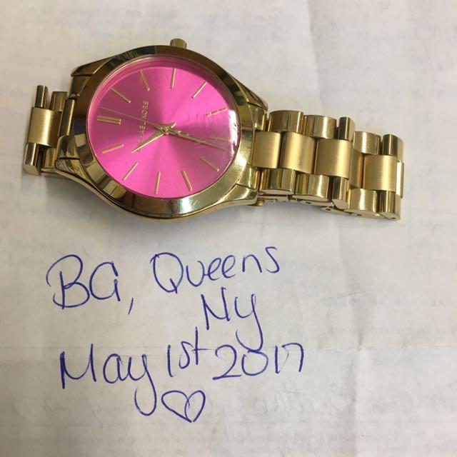 Authentic Mk Michael Kors Watch Pink