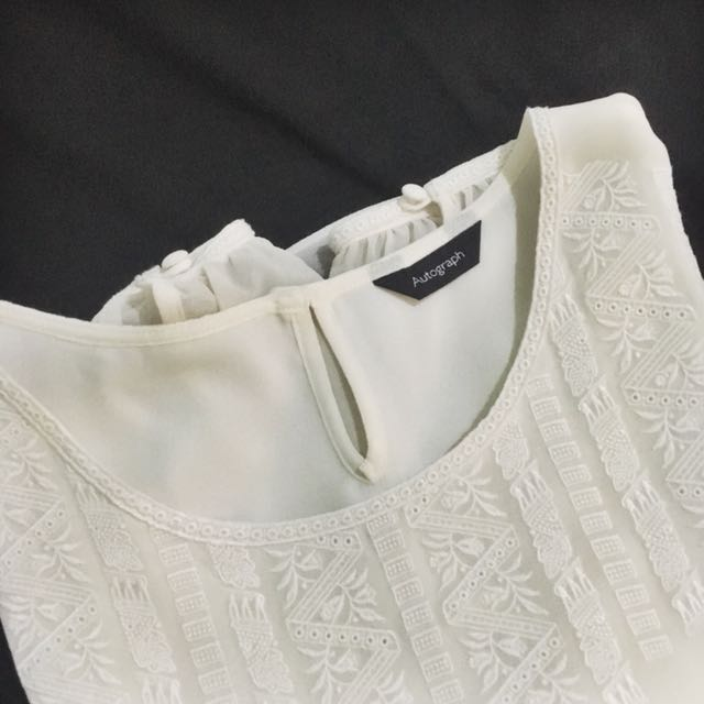 Autograph (M&S) Off-white Blouse