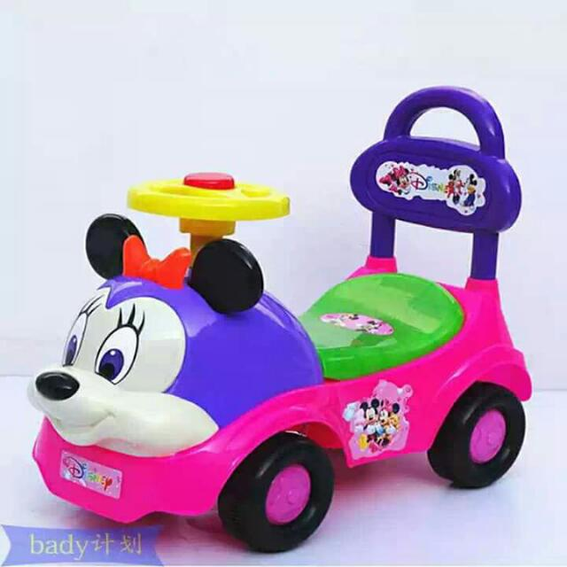Baby Car Minnie Mouse