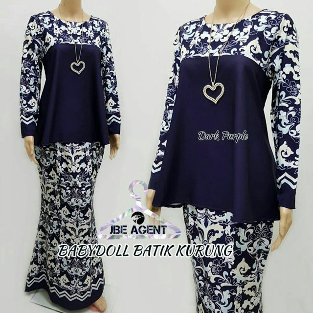 a9991359ea8e7 Babydoll batik kurung muslimah fashion on carousell jpg 640x640 Babydoll  batik