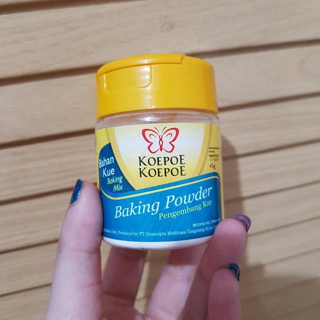 baking powder koepoe koepoe