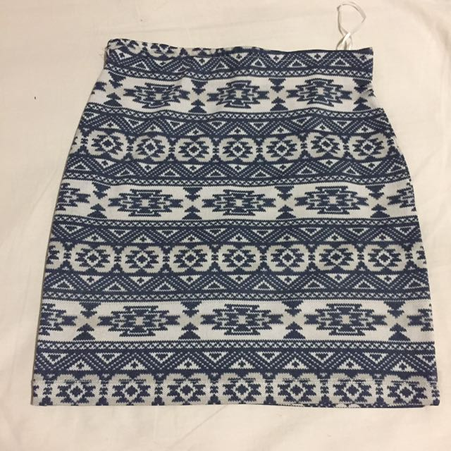 Bamboo Blonde Tribal Skirt