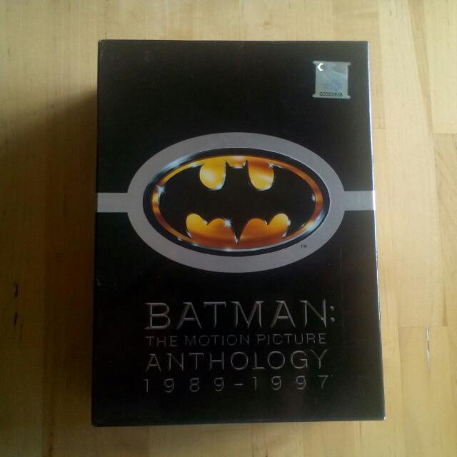 Batman Anthology Original Dvds 1989-1997