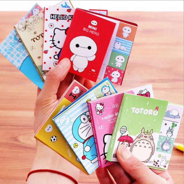 Baymax / Totoro / Hello Kitty / Doraemon / Memo Pads / Stick It / Sticky Notes