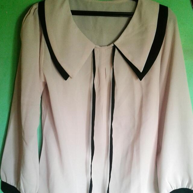 Blouse Pink Ribbon