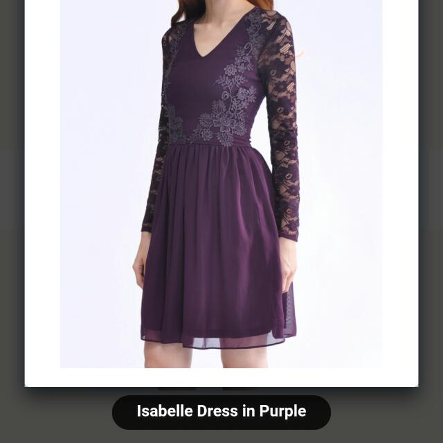 BNWT Kiss And Tell Isabella Dress