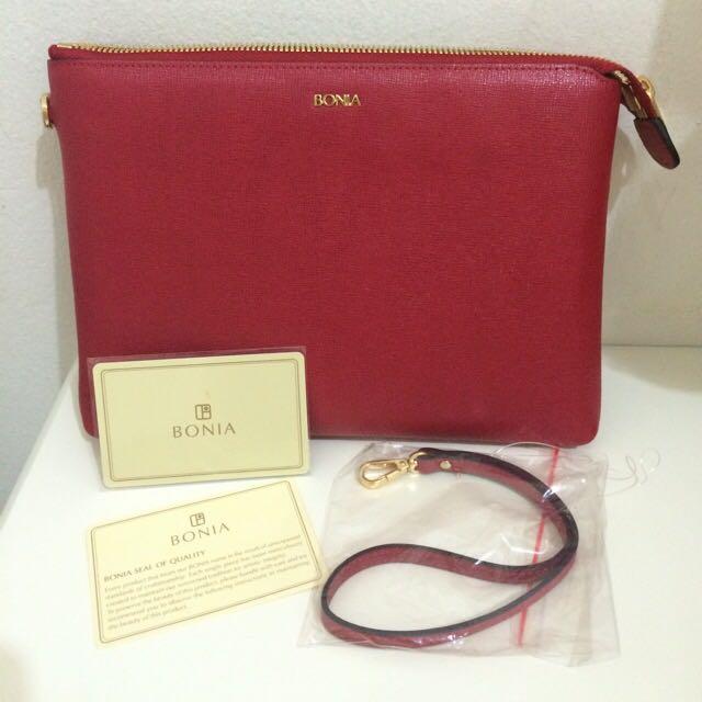 Bonia Small Handbag - Red