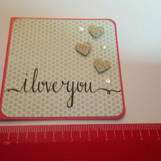 Brand New Handmade Mini Card