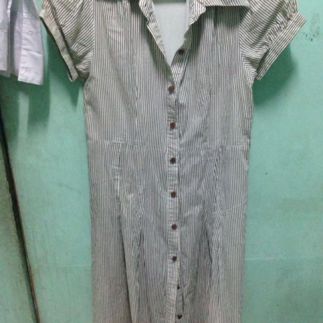 Button Down Formal Dress