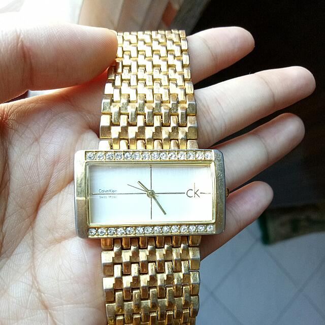 Calvin Klein Watch Gold