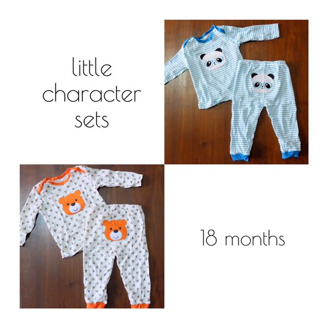 Carters Little Characters Set
